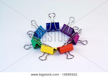 Binder clip circle 2