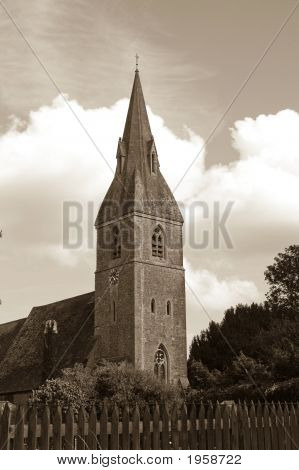 Sepia Church