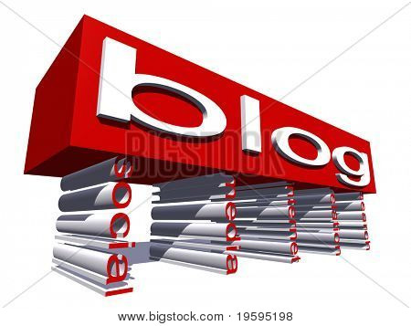 High resolution conceptual 3D text isolated on white background