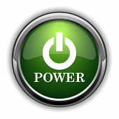 Power Button Icon0 poster
