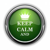 Keep Calm Icon0 poster