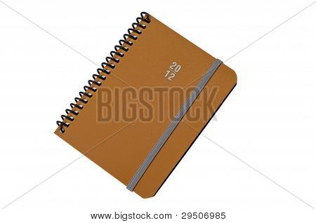 Closed Spiral notepad