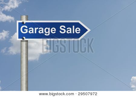 Garage Sale This Way