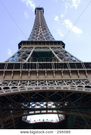 Eiffle Tower Looking Up