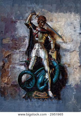 St. George mata o dragão