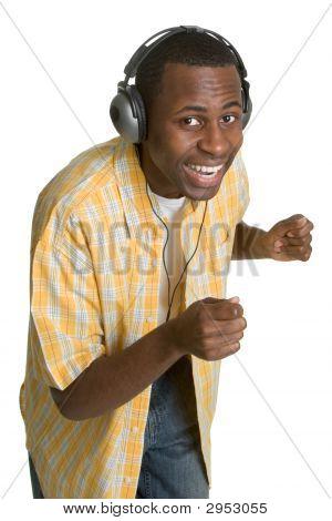 Dancing Black Man