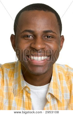 Smiling Black Man