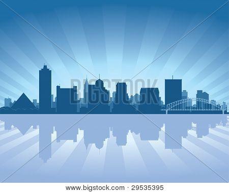 Memphis, Tennessee Skyline