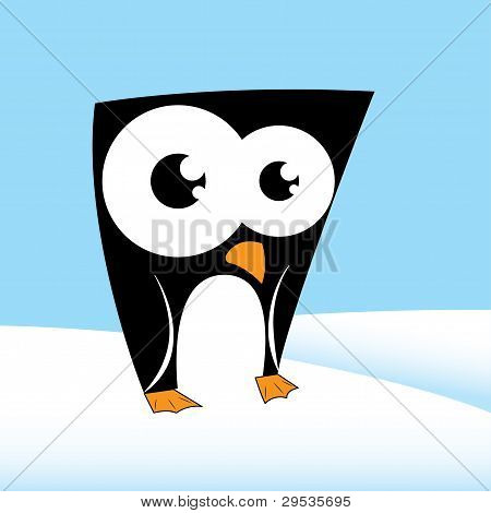 Cute penguin character