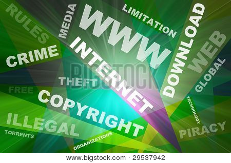 Internet Texts Copyright Conception