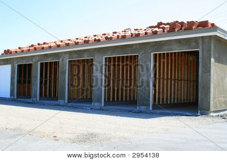 Garage Building Under Construction