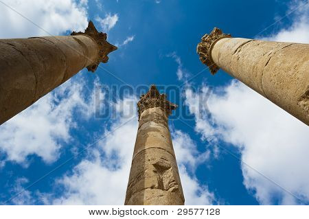 Columns Reaching For The Sky