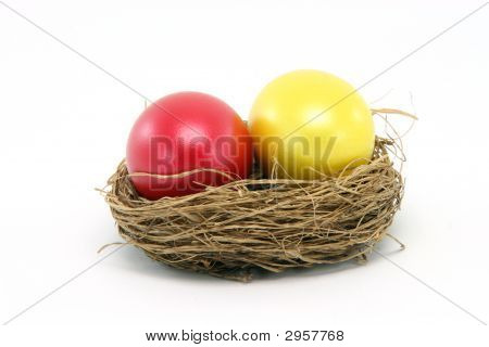 Red Yellow Egg