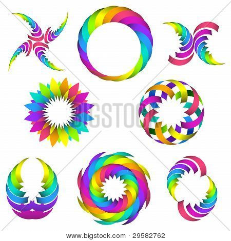 Rainbow Set For Your Design