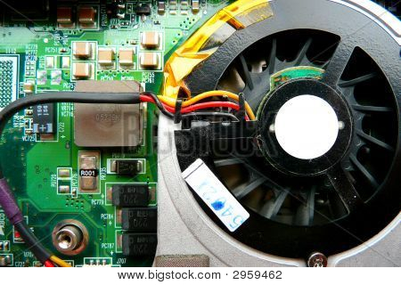 Circuit Board And Cooling Fan