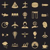 Vessel Icons Set. Simple Set Of 25 Vessel Icons For Web For Any Design poster
