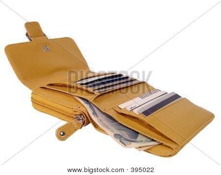 Open Wallet-clipping Path