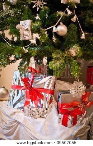 Present under Christmas Tree