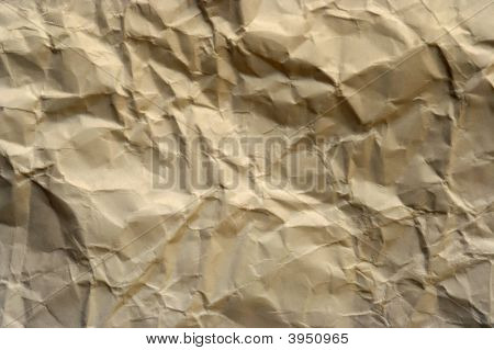 Old Crumpled Paper