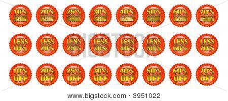 Discount Badges
