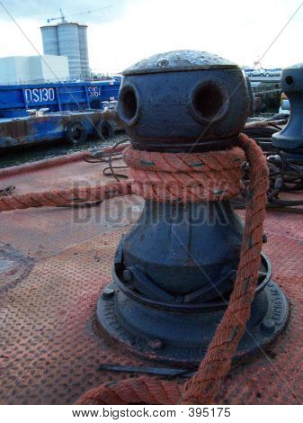 Capstan And Line