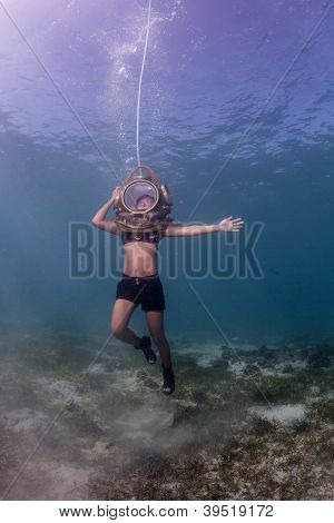 underwater dancer