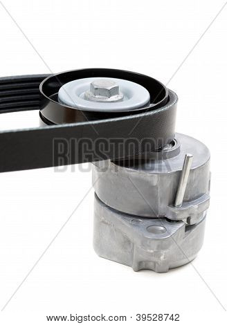 Generator Belt Tensioner Pulley With Poly-v Belt