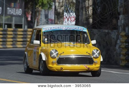 Yellow Mini Racing