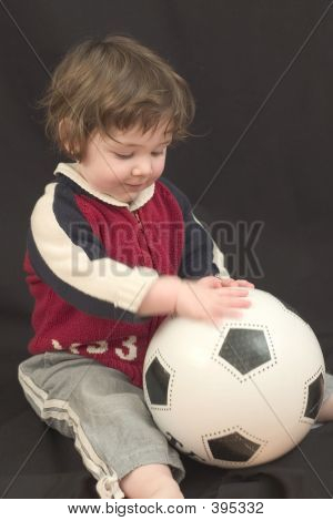 Kid With Ball