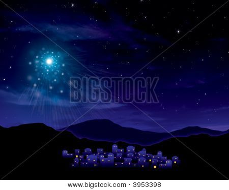 Bethlehem Starry Night