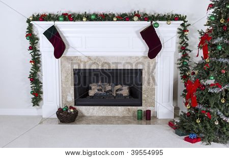 Fireplace Warming Up Holidays