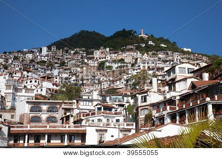 City Of Taxco Located In The Mexican State Of Guerrero