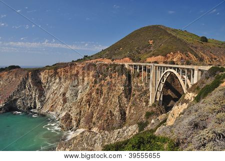 Pacific Coast Highway and Bixby Bridge