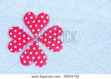 Quatrefoil Of Hearts