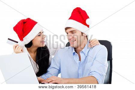 Pareja de Navidad