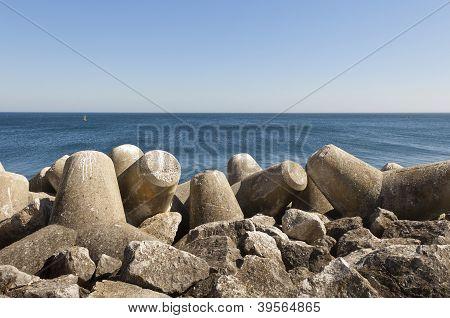 Tetrapod Breakwater