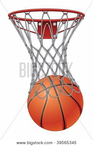 Basketball Through Net