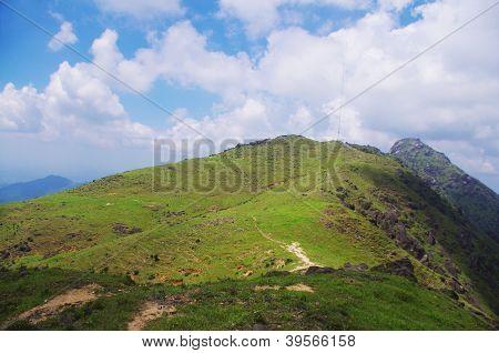 beautiful hill of china
