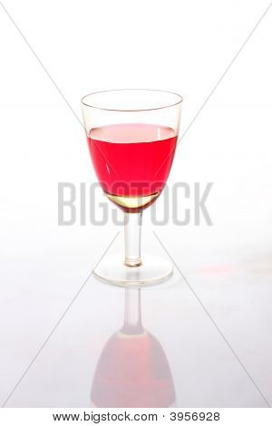 Wine-Glass With A Red Drink