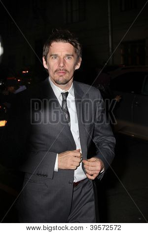 NEW YORK, NY - NOVEMBER 26: Ethan Hawke attends the IFP's 22nd Annual Gotham Independent Film Awards at Cipriani Wall Street on November 26, 2012 in New York City.