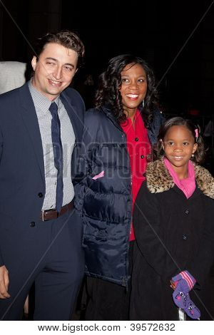 NEW YORK, NY - NOVEMBER 26: Direcror Benh Zeitlin, actress Quvenzhane Wallis  and guest attends the 22nd Annual Gotham Independent Film Awards  on November 26, 2012 in New York City.