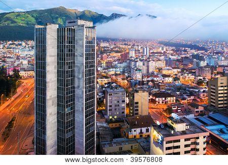 Quito, Ecuador Aerial