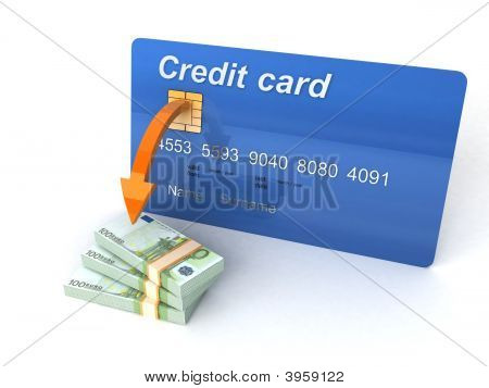Three Dimensional Credit Card