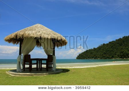 Spa Relaxation Hut