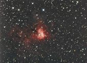 stock photo of perseus  - astronomy night sky telescope stars nebula galaxy - JPG