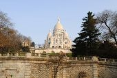 stock photo of sacred heart jesus  - Basilica of the Sacred Heart of Paris - JPG