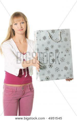 Passing Shopping Bag