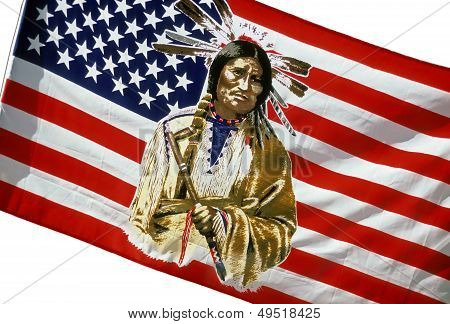 Native American Flag.
