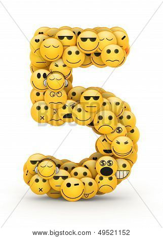 Emoticons number 5