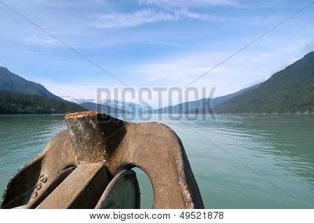 Fjord in Canada